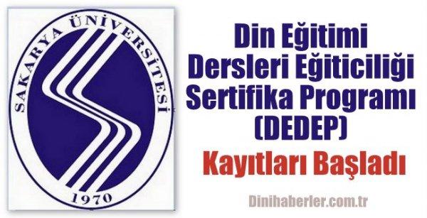 Din Eğitimi Dersleri Eğiticiliği Sertifika Programı (DEDEP)