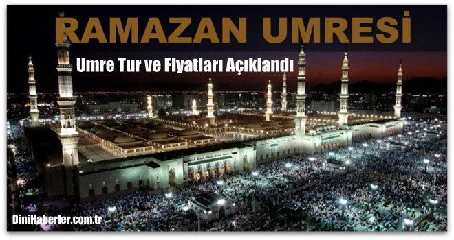Diyanet 2017 Ramazan ayı umre programı belli olmuştur...