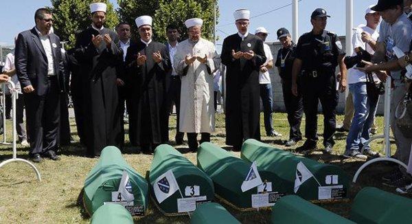 Başkan Görmez, Srebrenitsa'dan dünyaya mesaj verdi