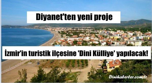 Diyanet İzmir'de 50 Dönüm Üzerine Dini Külliye Yapacak