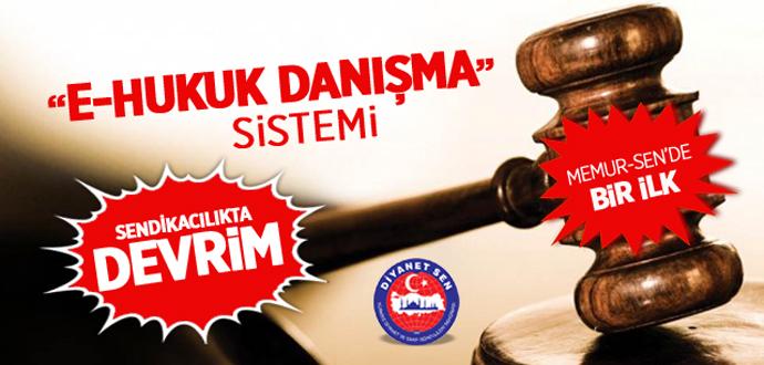 """Diyanet-Sen\'in Yeni Hizmeti: """"E-Hukuk Danışma"""" Sistemi"""