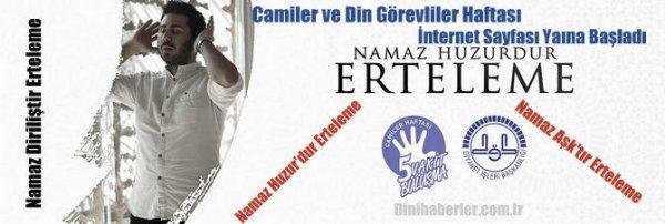 Diyanet'in Camiler Haftası Sitesi Yayına Başladı