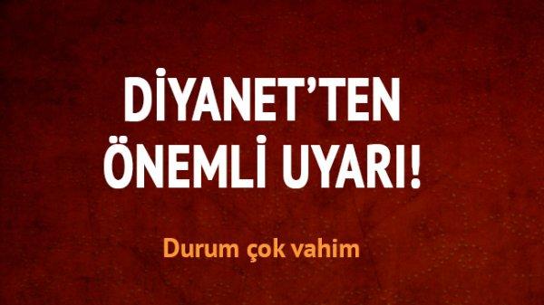 Diyanet'ten SOSyal medya alarmı