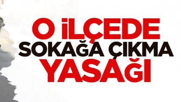 Diyarbakır Lice'de sokağa çıkma yasağı