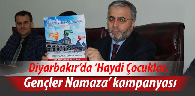 Diyarbakır\'da \'Haydi Çocuklar, Gençler Namaza\' kampanyası