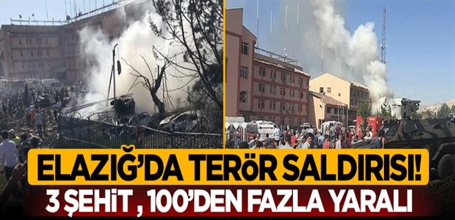 Elazığ\'da terör saldırısı!