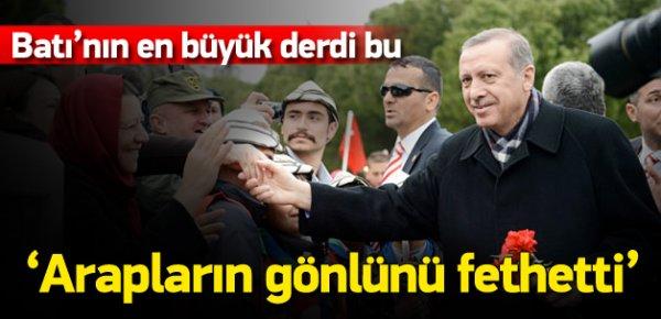 'Erdoğan Arap halkların gönlünü fethetti'