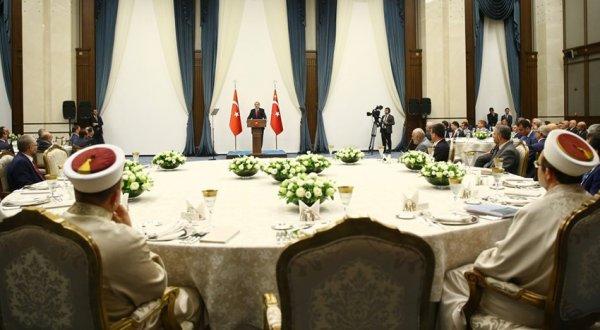 Erdoğan, İl Müftüleri ile Bir Araya Geldi