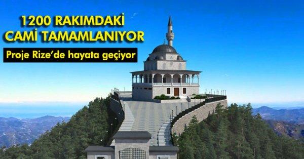 Erdoğan, Kıbledağı'nın Zirvesinde İnşa Edilen Camiyi İbadete Açacak