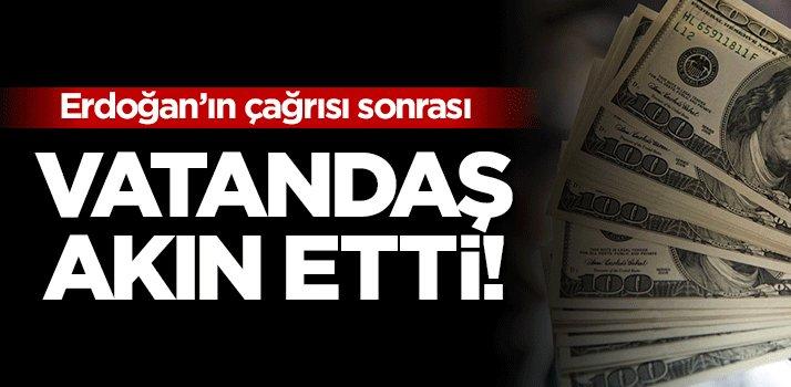 Erdoğan\'ın çağrısı sonrası İstanbullular akın etti!