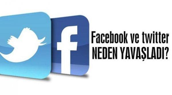 Facebook ve Twitter neden yavaş?