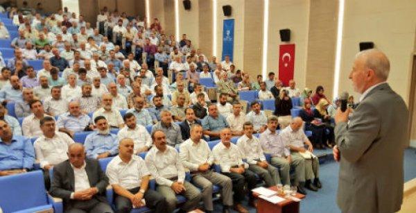 Gaziantep'te vekaleten kurban bilgilendirme toplantısı yapıldı