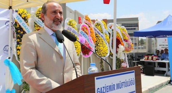 Gaziemir Ahmet Eroğlu Camii İbadete Açıldı