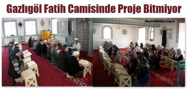 Gazlıgöl Fatih Camisinde Proje Bitmiyor