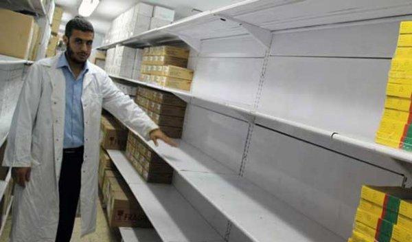 Gazze'de ilaç bitti, sağlık hizmetleri durdu