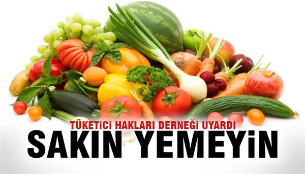 GDO'lu gıdaları tüketmeyin uyarısı