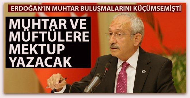 Genel Müdür Kemal rotayı müftülere çevirdi.