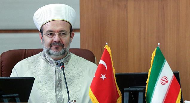 Görmez, İran'ın dini lideri Ayetullah Hamaney ile görüştü...