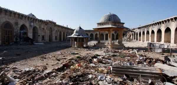 Halep'te camiler ezansız ve teravihsiz kaldı