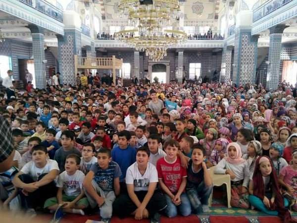 Hz.EbuBekir Camii 1500 Öğrenciyle Yaz Kuran Kursuna Başladı