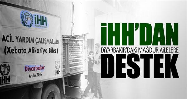 İHH'dan Diyarbakır'daki mağdur ailelere destek