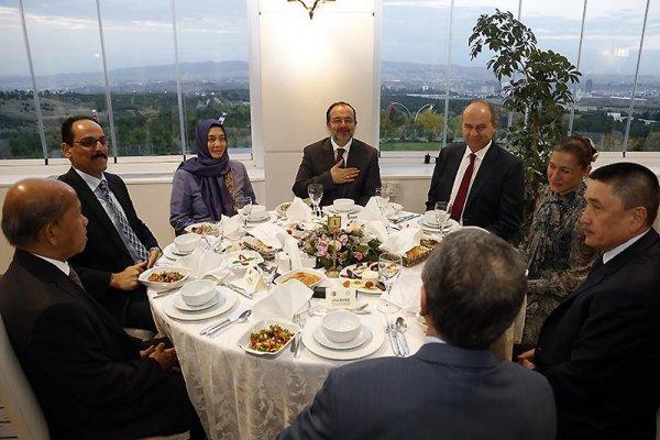 İslam Ülkeleri Büyükelçileri iftar sofrasında buluştu…