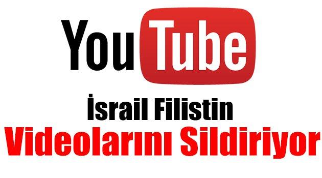 İsrail Filistin Videolarını Sildiriyor