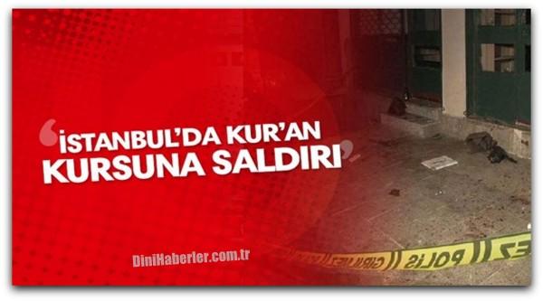 İstanbul\'da Kur\'an Kursu\'nun Camları Kırıldı