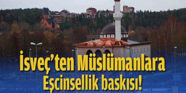 İsveç'te camiye 'eşcinsellik' baskısı!