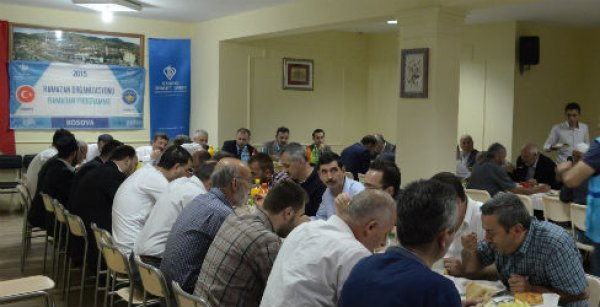 İyilik sofrası Kosova'da bereketi paylaştı