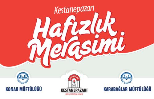 İzmir Kestanepazarında 70. Yılında 110 Hafızla Muhteşem Merasim