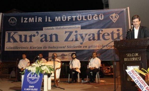 İzmir Selçuk'da Muhteşem Kur'an Ziyafeti Programı