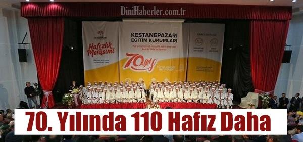 İzmir\'de Muhteşem Bir Törenle 110 Hafıza İcazet