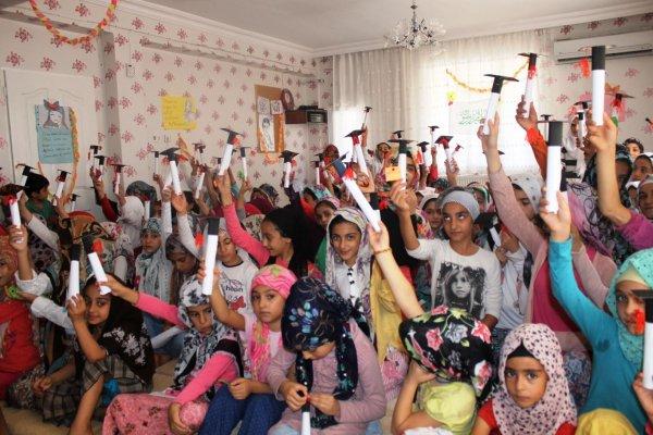 Kur'an Kursu Öğrencilerine Namaz Diploması verildi