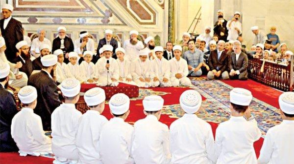 Kur'an 'muhafızları' icâzetlerini aldı