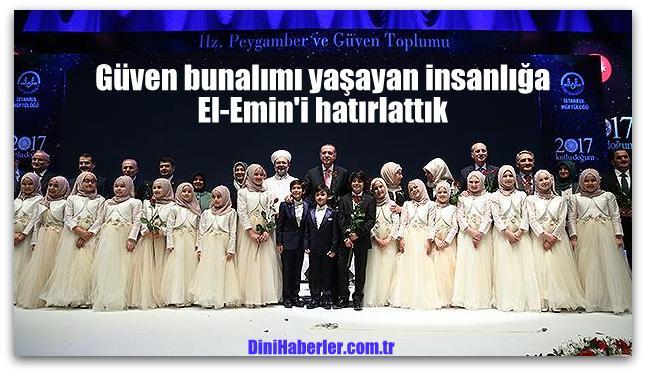 Kutlu Doğum Haftası, İstanbul'da büyük bir coşkuyla kutlandı…
