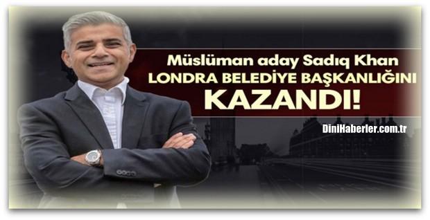 Londra Belediye Başkanlığını Müslüman aday kazandı