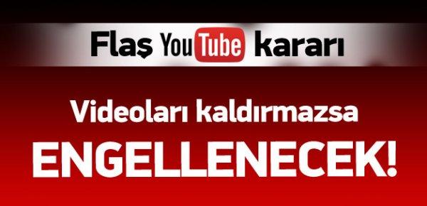 Mahkemeden flaş YouTube kararı