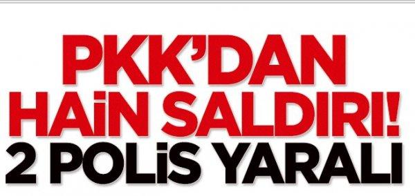 Mardin'de PKK'lı Terörisler İki Ayrı Yere Saldırdılar