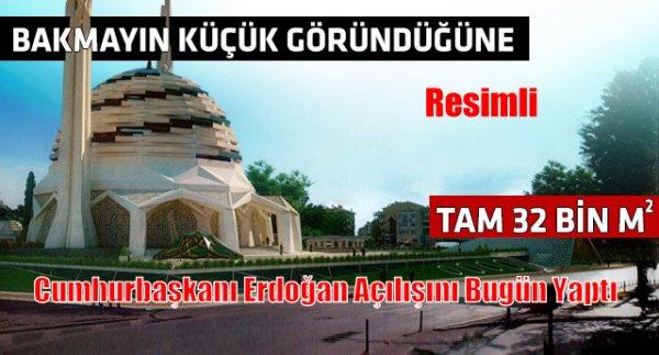Marmara Üniversitesi İlahiyat Fakültesi Camii açıldı