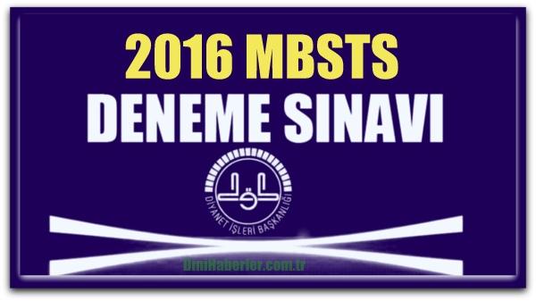 MBSTS Deneme Sınavları