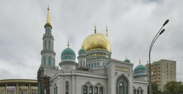 Moskova Merkez Camisi'nde Osmanlı izleri - GALERİ