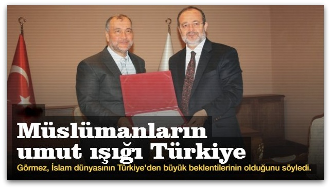 Müslümanların umut ışığı Türkiye