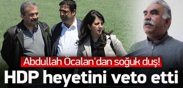 Öcalan'dan HDP heyetine veto!