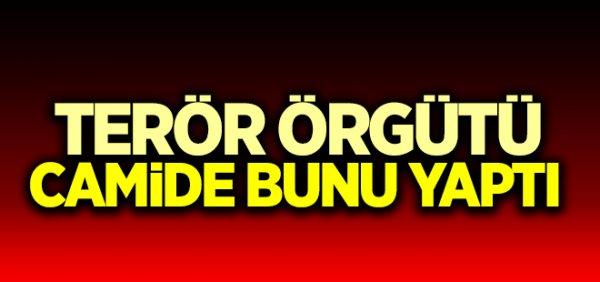 PKK, camiyi 'merkez gibi' kullanmış