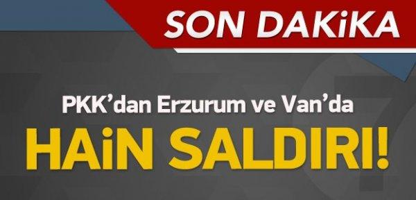 PKK'dan peş peşe hain saldırı, Yaralılar var!