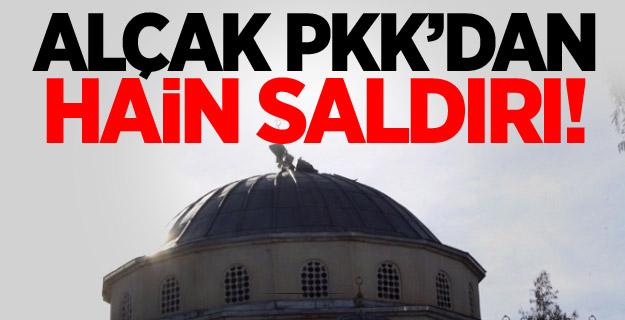 PKK\'lı Hainlerden Camiye Alçak Saldırı