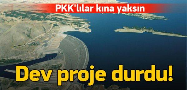 PKK'nın saldırıları Silvan Barajı'nı durdurdu