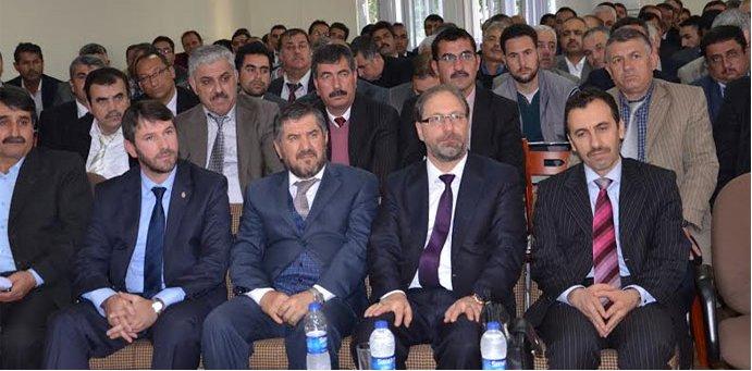 Prof. Dr. Ali Erbaş Serik Personeli İle Biraraya Geldi