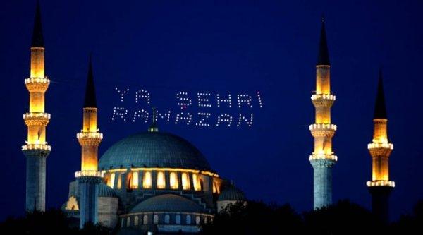 Ramazan, 17 Haziran Çarşamba gecesi ilk sahurla başlayacak